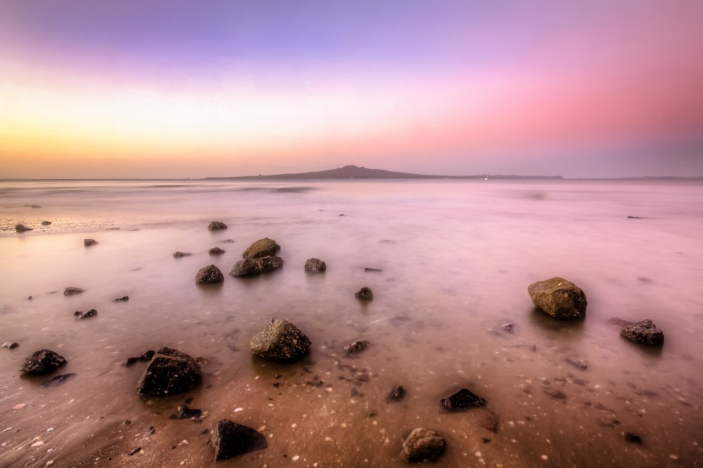 Rangitoto Island At Sunset | Photo Credit: Auckland Tourism, Events and Economic Development