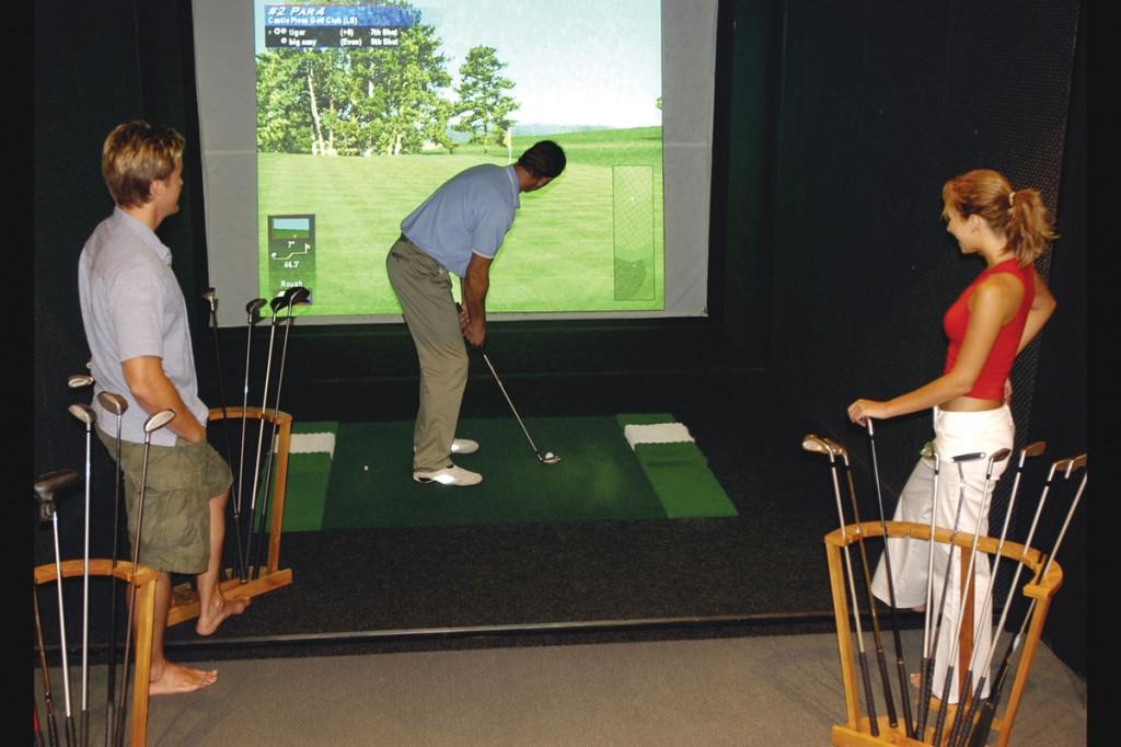 Golf Simulator | Photo Credit: Namale