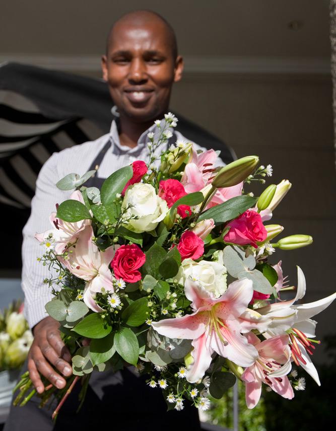 Bouquet of Flowers   Photo Credit: Cape Grace