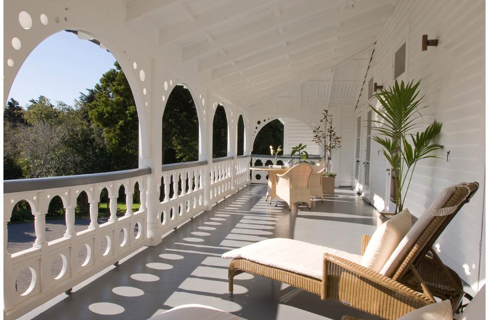 Deck | Photo Credit: Otahuna Lodge
