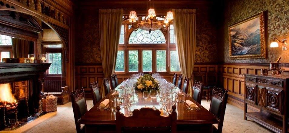 Dining | Photo Credit: Otahuna Lodge