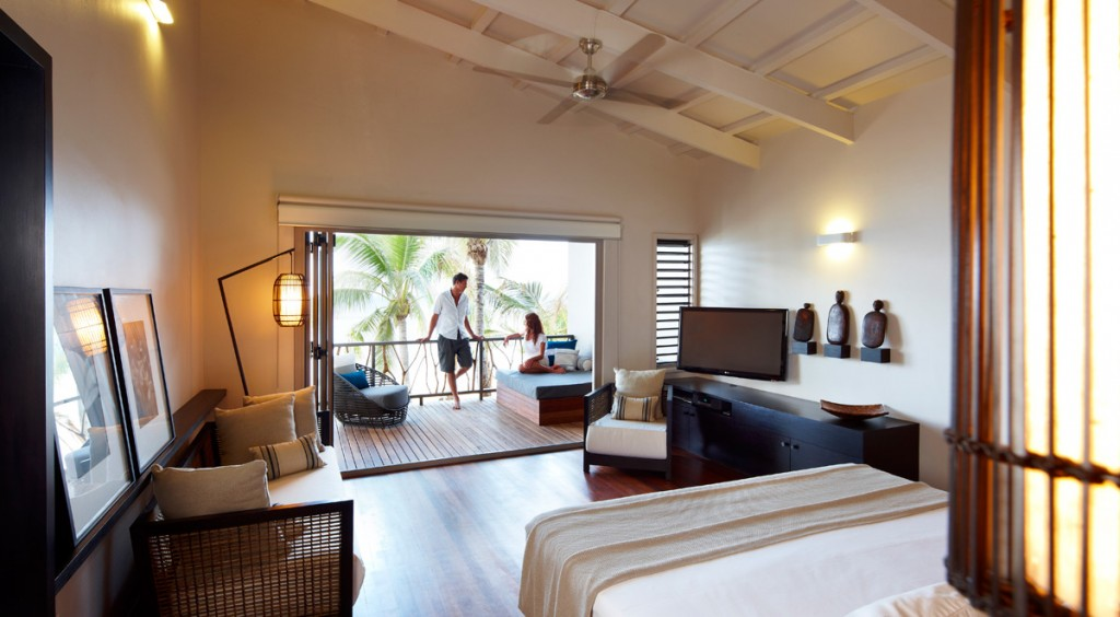 Villa Interior | Photo Credit: Tadrai Island Resort