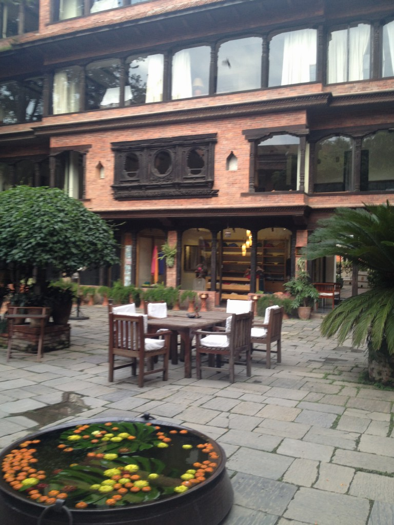 Courtyard at Dawarika Hotel