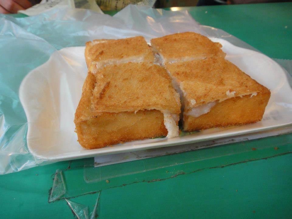 Coffin Bread - Taiwan Night Market