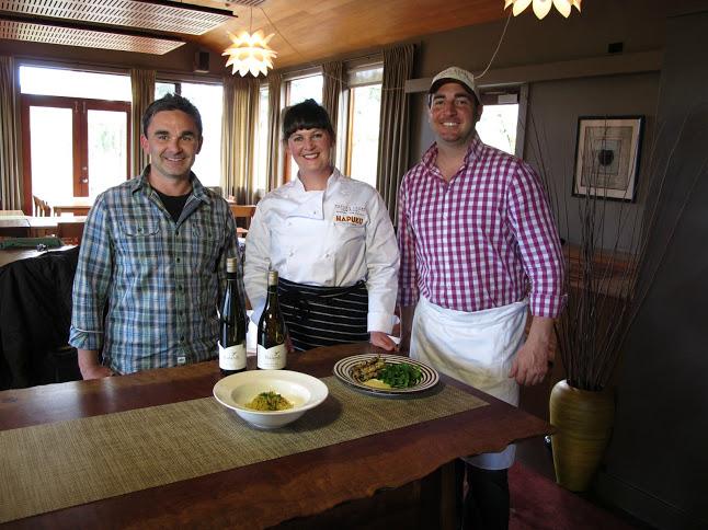 Chefs at Hapuku Lodge