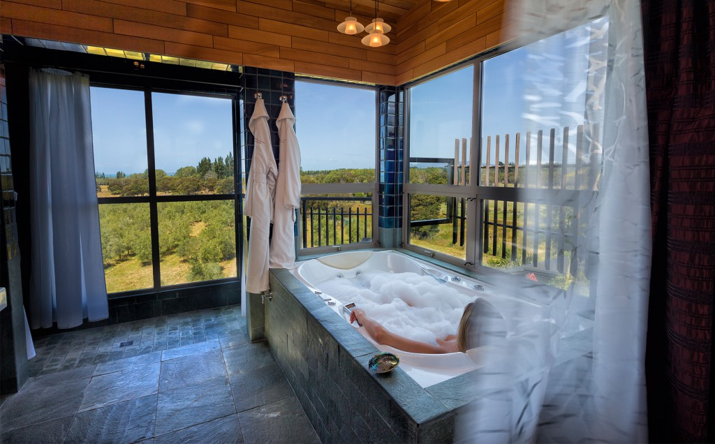 Hapuku Suite Hot Tub