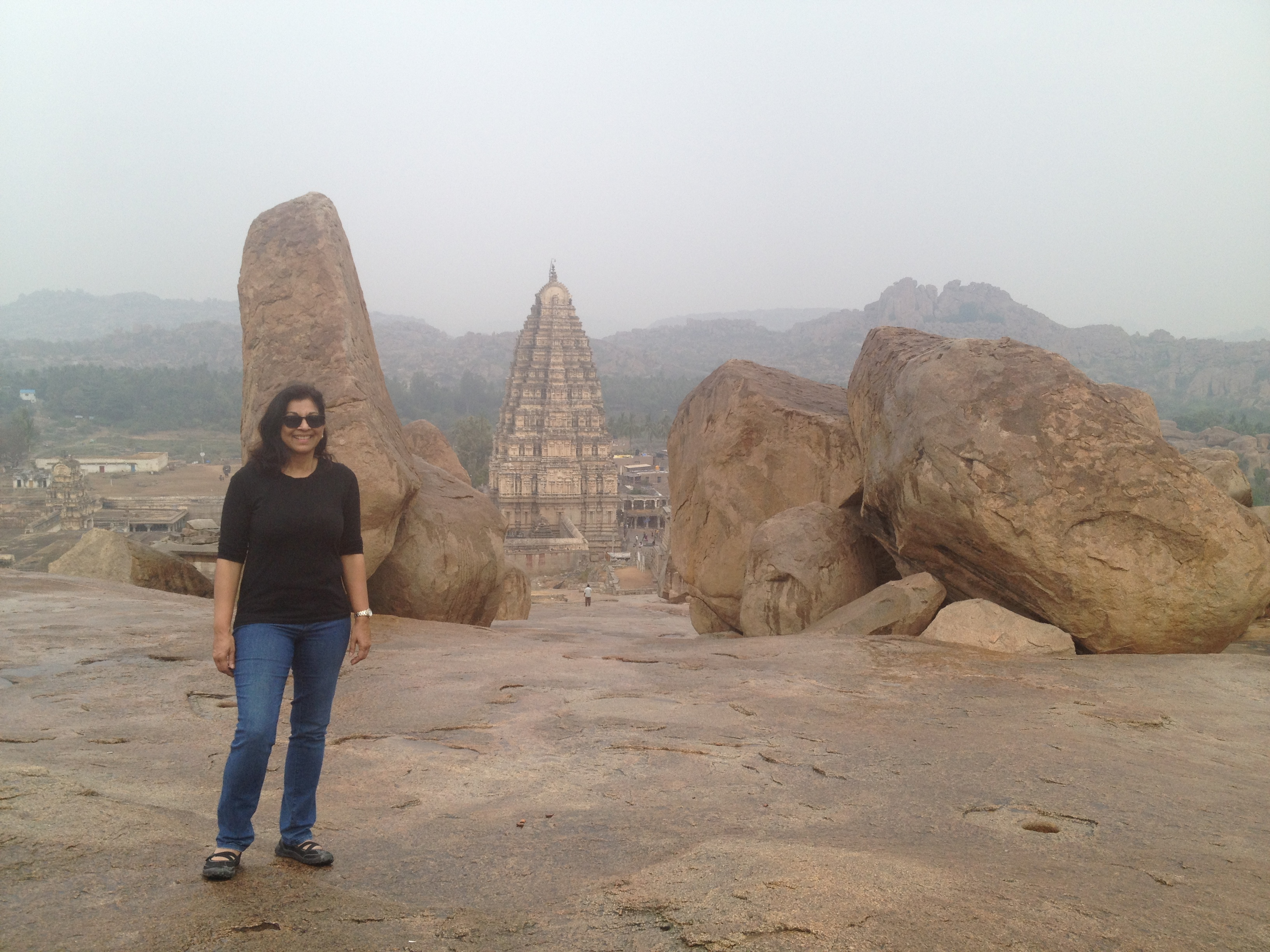 Ruins of the 14th century Hampi