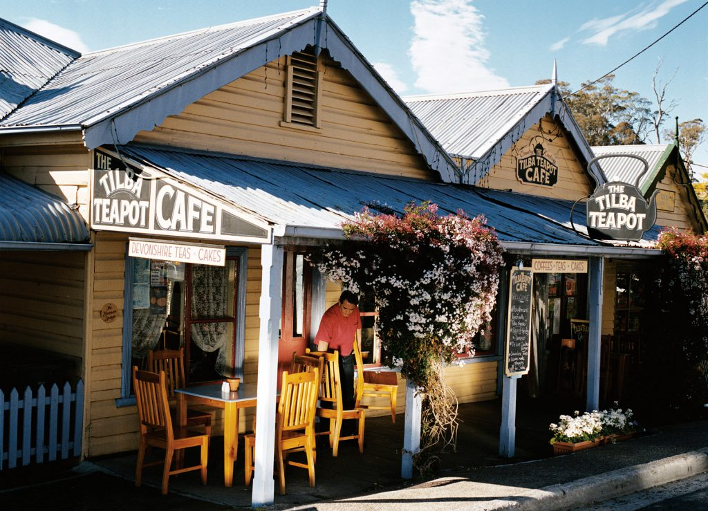 The Tilba Teapot Cafe at Tilba, Eurobodalla, South Coast, NSW