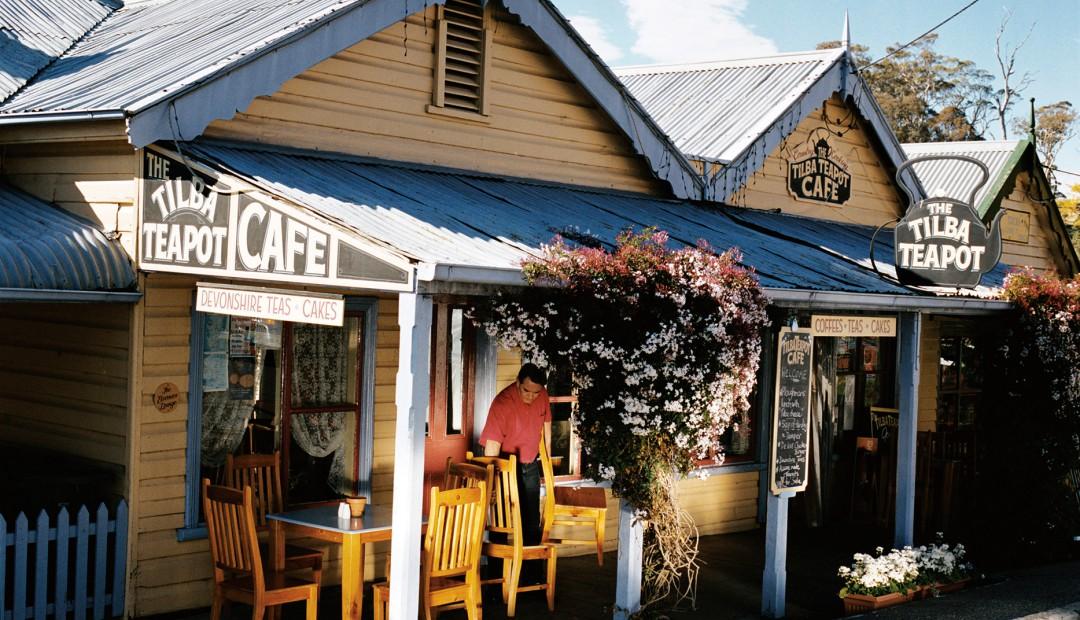 The Tilba Teapot Cafe at Tilba, Eurobodalla, South Coast, NSW