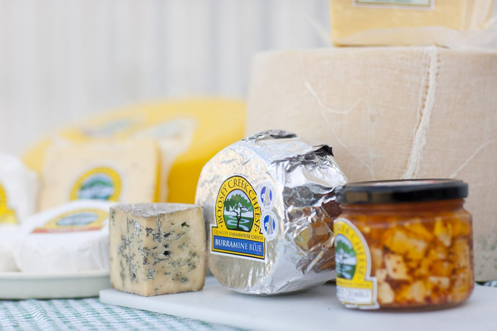 Cheeses from Boosey Creek Cheese | Photo Credit: Tourism Victoria/Robert Blackburn