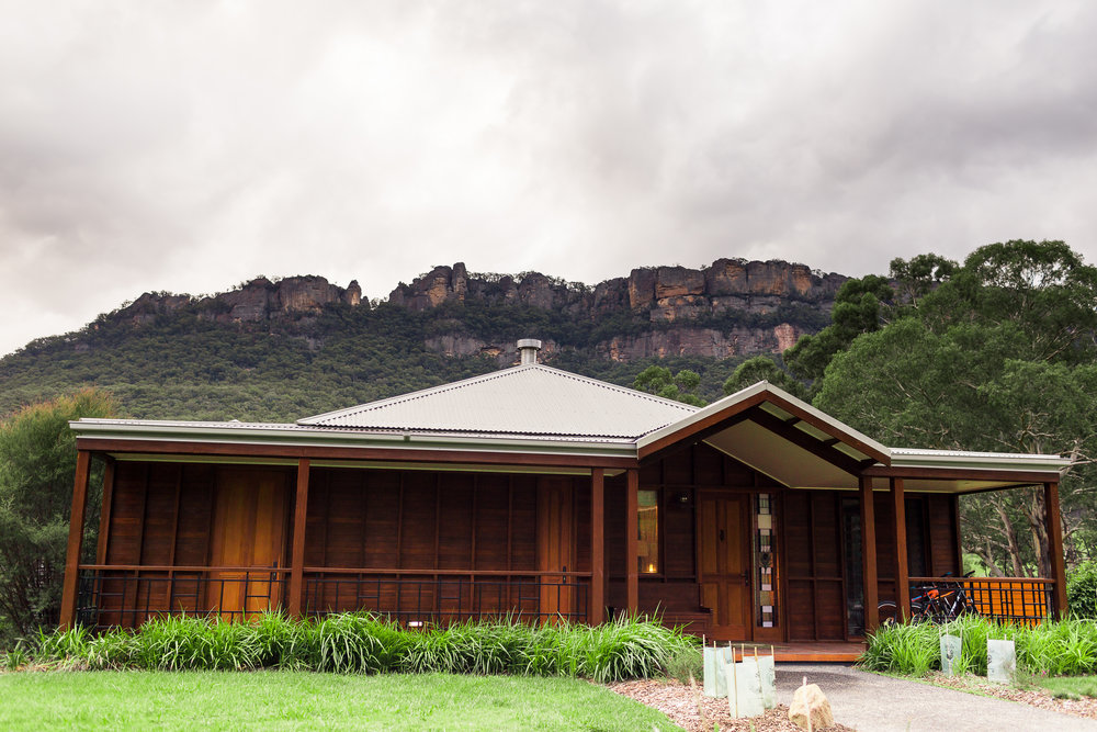 Wolgan Valley Exterior | Photo Credit: Jessa Rachael Photography