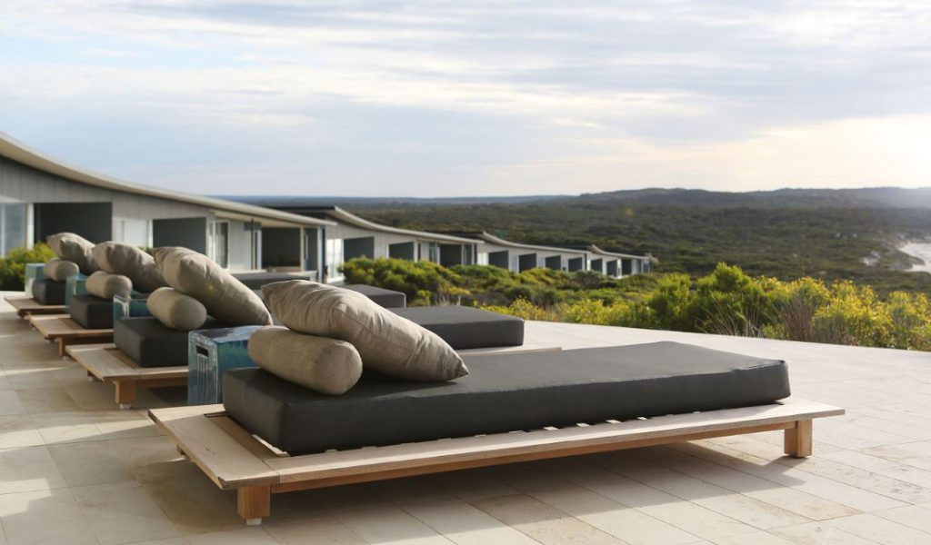 SOL Balcony | Photo Credit: Southern Ocean Lodge