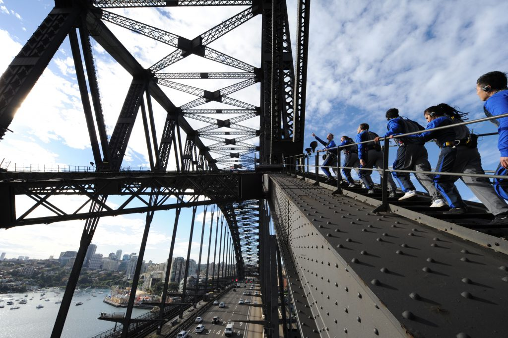 Climb | Photo Credit: BridgeClimb Sydney