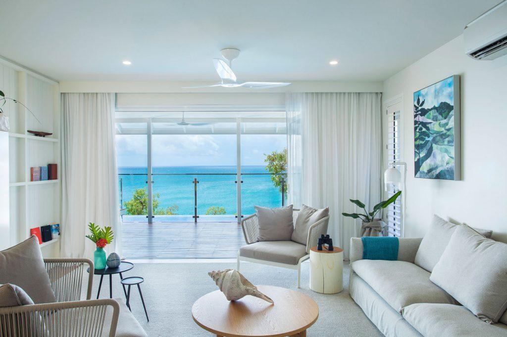 Living Room | Photo Credit: Lizard Island: Great Barrier Reef Luxury Island Resort