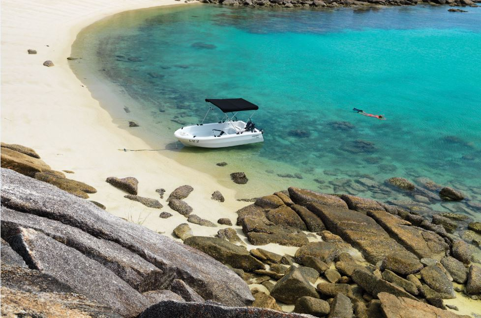 Dinghy | Photo Credit: Lizard Island - Great Barrier Reef Luxury Island Resort