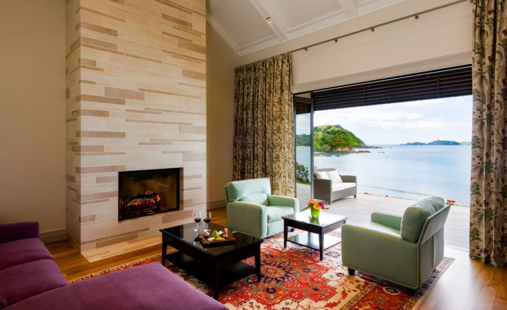 Lounge Area | Photo Credit: Helena Bay Lodge