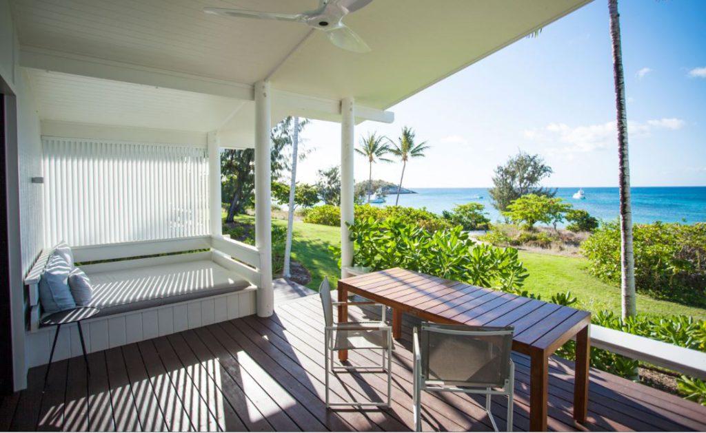 Patio | Photo Credit: Lizard Island: Great Barrier Reef Luxury Island Resort