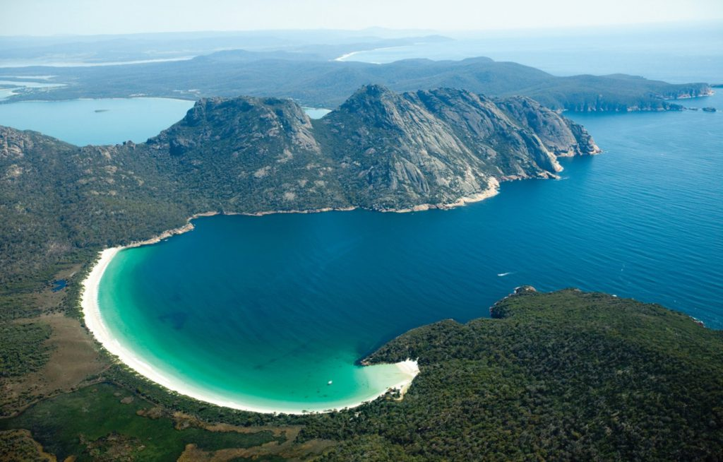 Wineglass Bay | Photo Credit: Sail Walk