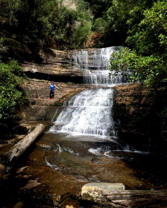Waterfall in Tasmania | Photo Credit: Kathryn Fischer