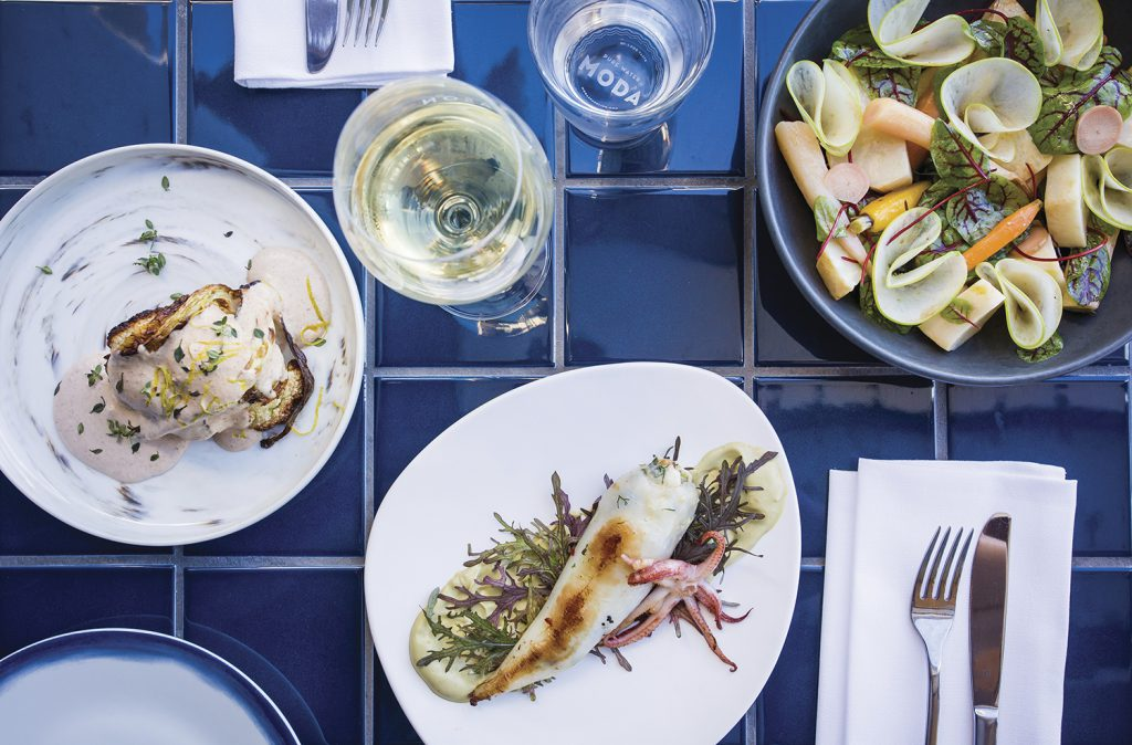 Cuisine from Anason Restaurant | Photo Credit: Destination New South Wales
