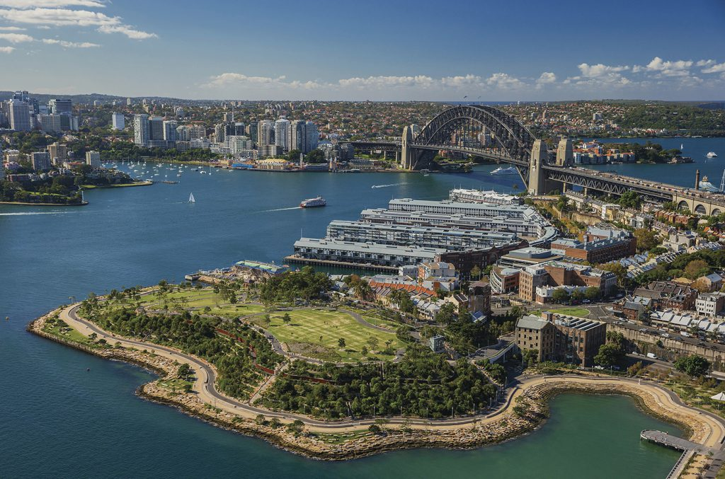 Aerial View of Barangaroo | Photo Credit: Destination New South Wales