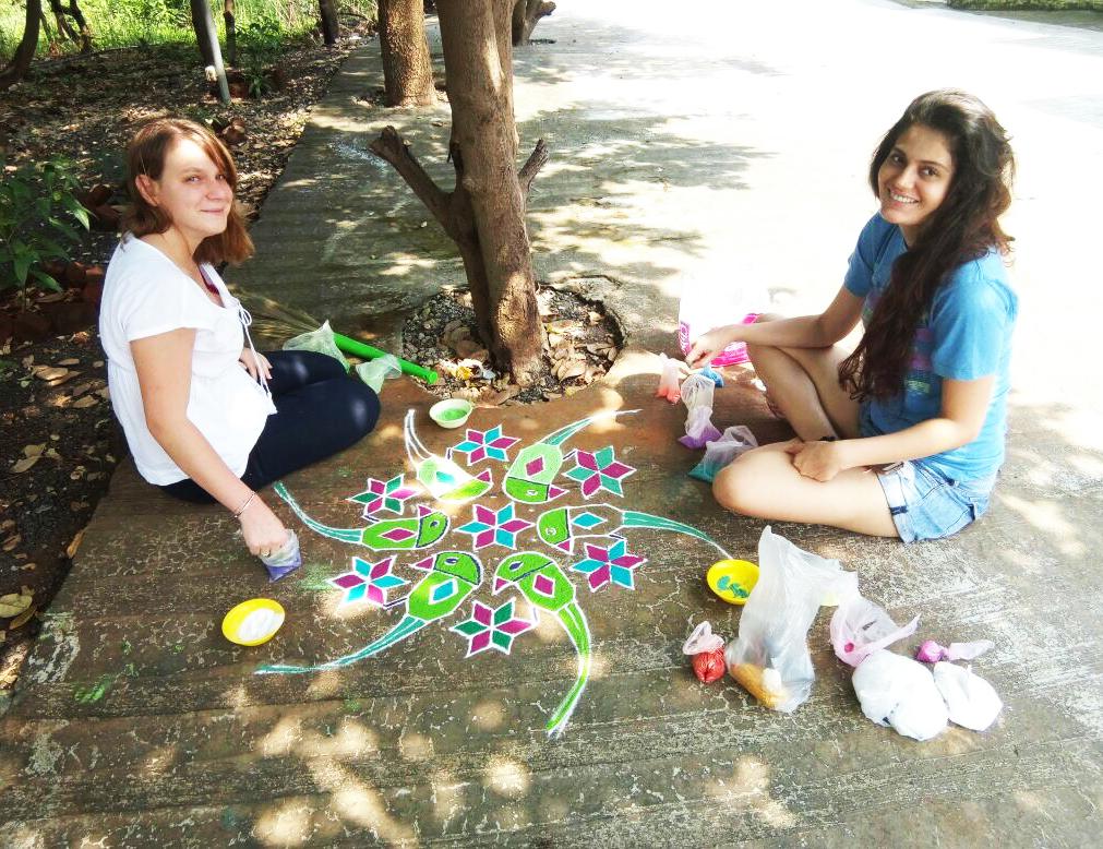 Celebrating Diwali | Photo Credit: Bela Banker