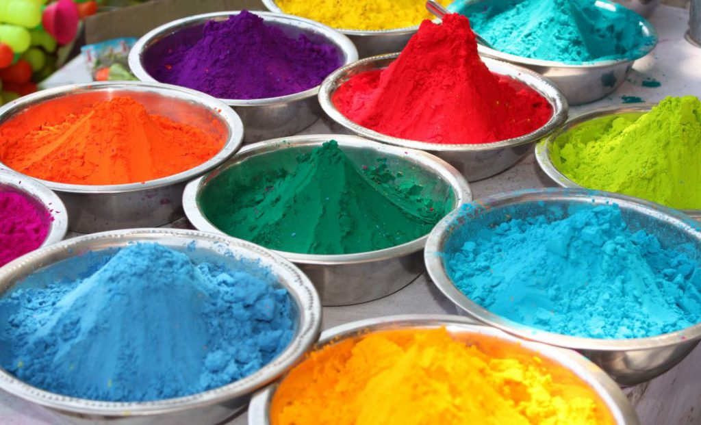 Powder Colors for Holi | Photo Credit: Shutterstock