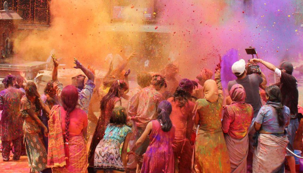 Holi Festival in Nepal | Photo Credit: Shutterstock