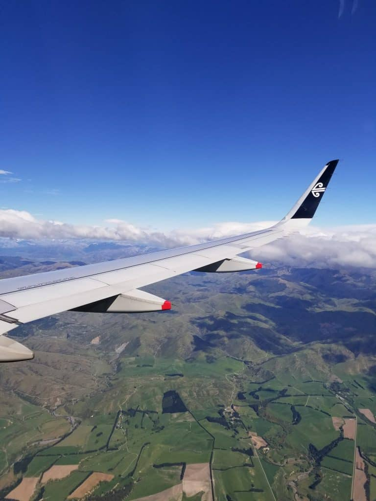 Flying over Christchurch | Photo Credit: Sarah Herman