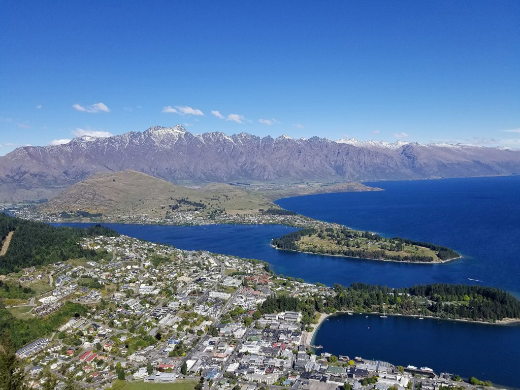 View of Queenstown | Photo Credit: Sarah Herman