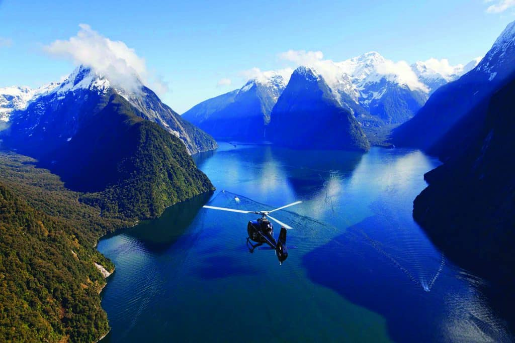 Milford Sound | Photo Credit: Milford Ultimate Heli Flight