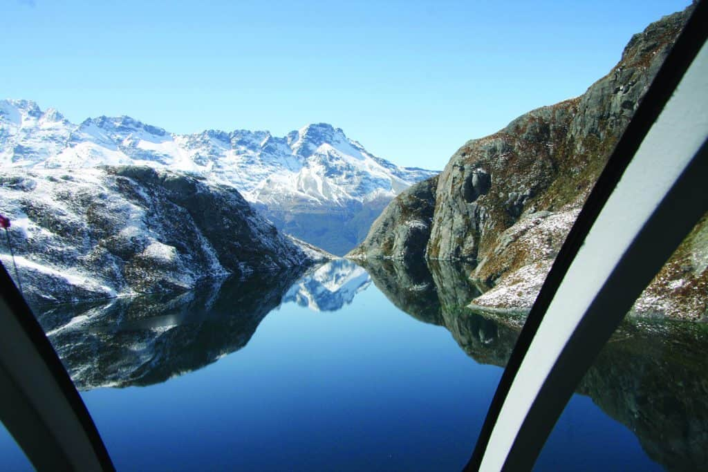 View of Milford Sound | Photo Credit: Milford Ultimate Heli Flight