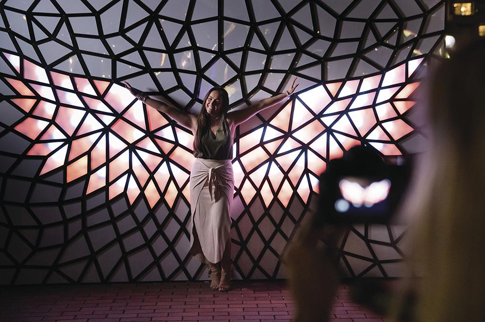 Crystallise Light Installation | Photo Credit: Destination New South Wales