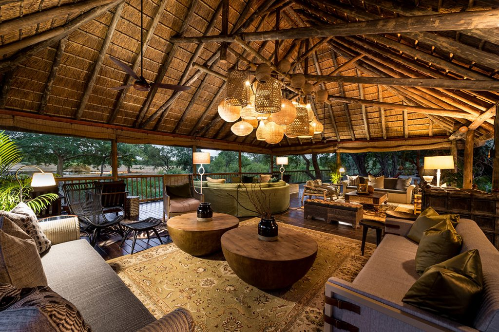 Safari Deck | Photo Credit: Sabi Sabi Bush Lodge