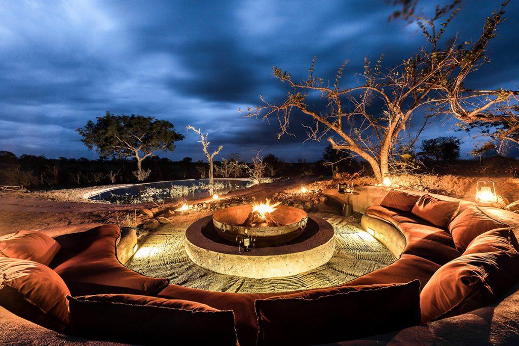 Fire Pit | Photo Credit: Sabi Sabi Earth Lodge