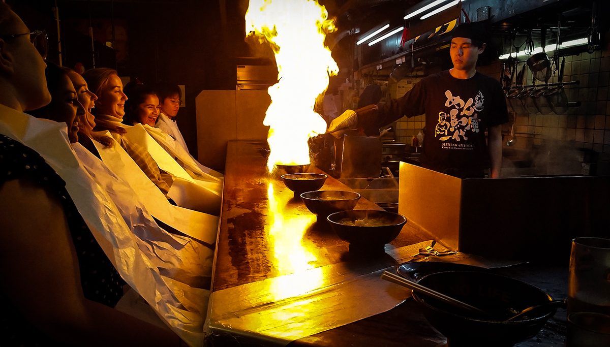 Fire Ramen | Photo Credit: Richard Siegel
