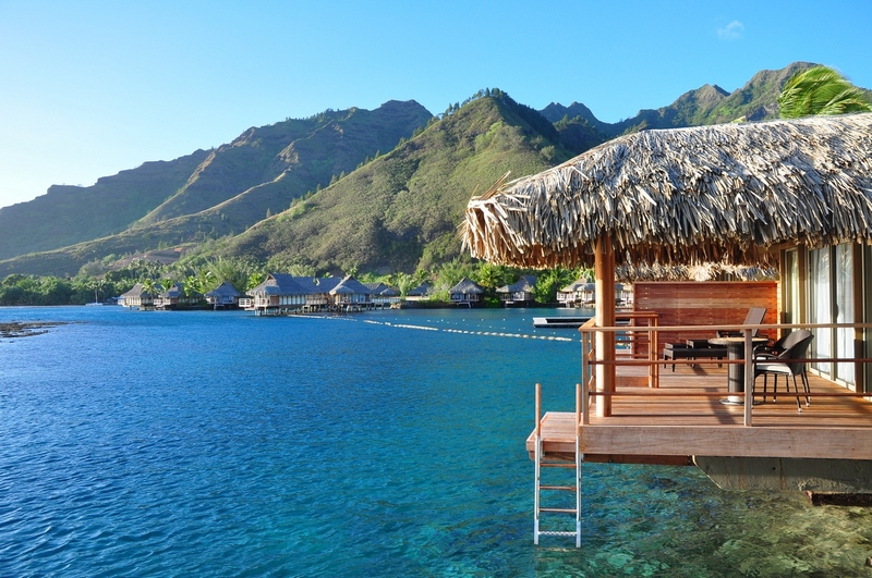 Over Water Bungalow | Photo Credit: Intercontinental Moorea
