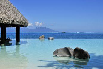 Lotus Pool | Photo Credit: Intercontinental Tahiti