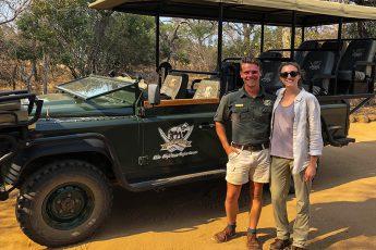 On Safari | Photo Credit: Kathryn Fischer