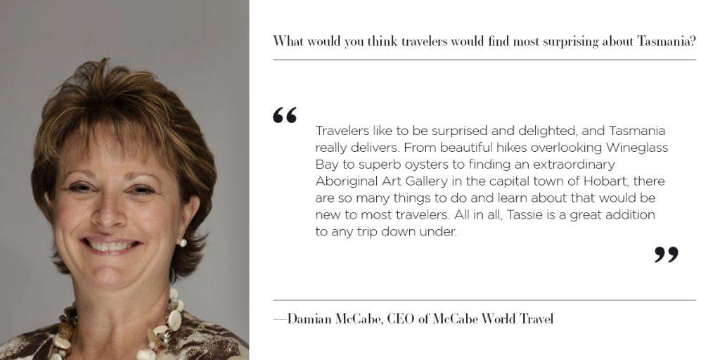 Damian McCabe - Why Tasmania?