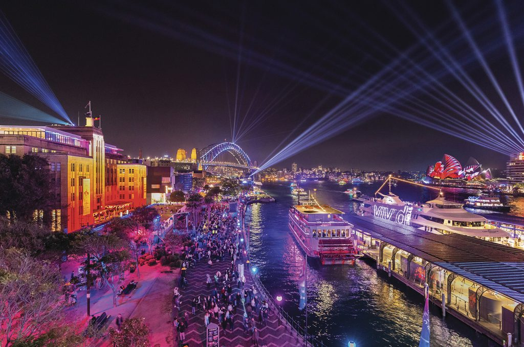 Vivid Sydney | Photo Credit: Destination New South Wales