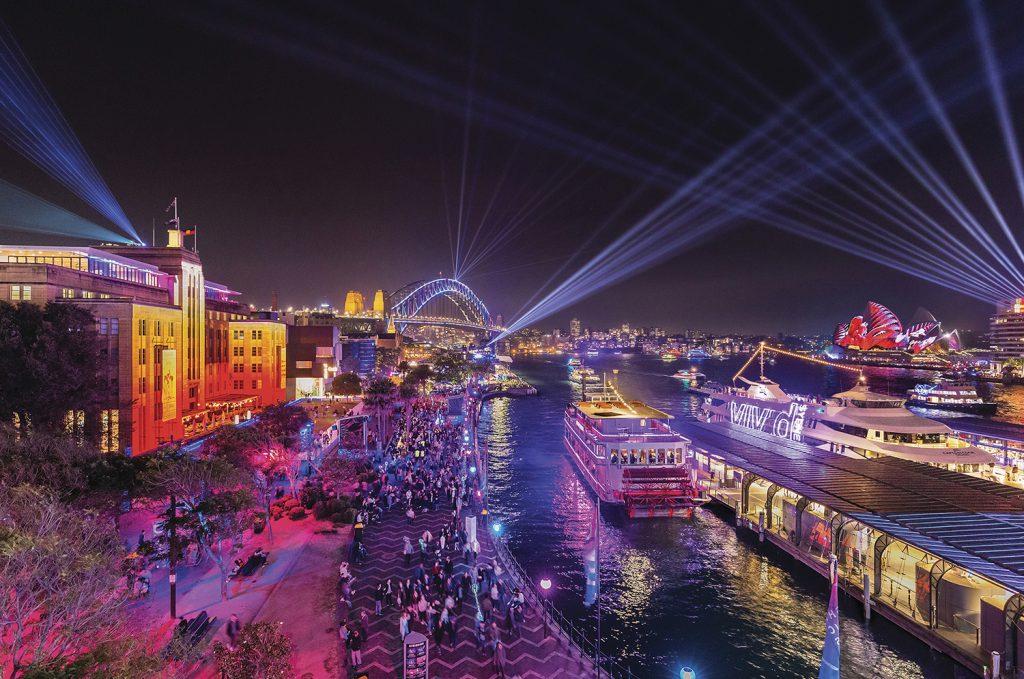 Vivid Sydney | Photo Credit: Destination New South Wales