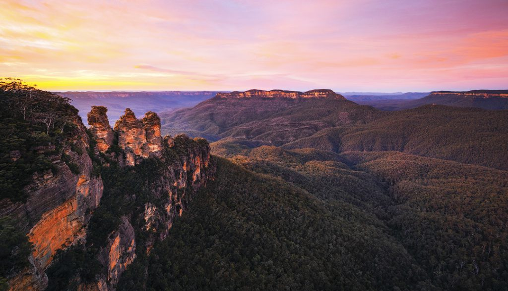 Blue Mountains National Park | Photo Credit: Destination New South Wales