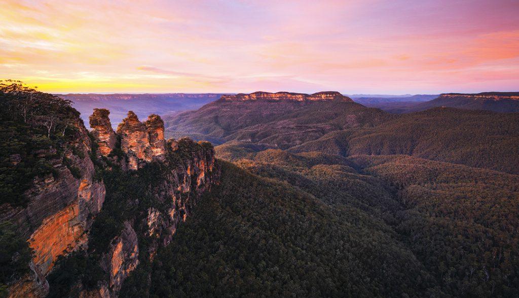 Blue Mountains National Park | Photo Credit: Destination New South Wales