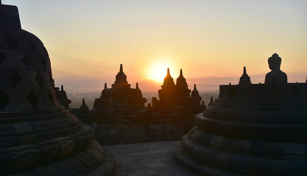 Borobudur, Indonesia | Photo Credit: Donna Van Buren