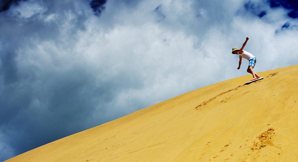 Sandboarding | Photo Credit: Sandboarding