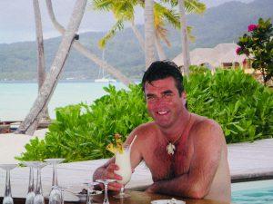 Ian Swain in Tahiti