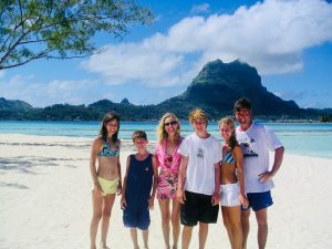 The Swain Family in Tahiti