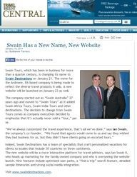 Swain Has a New Name, New Website