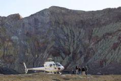 White Island Volcano Landing